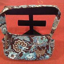 Vera Bradley Java Blue small purse handbag bag Perfect for travel or night out!