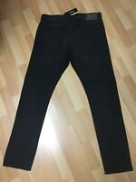 NWT Mens Diesel SMOOTH Stretch Denim R9F66 Black Slim W35 L32 H6 RRP£180