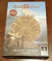 LOOT CRATE DX Artifacts God of War Kratos' Shield Replica Loot Crate Exclusive