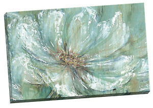 24 x 36 Wall Art, Portfolio Canvas Teal Splash by Carson Large