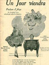 """Publicité Ancienne """" Parfum D'Arys  1918 ( P 35 )"""