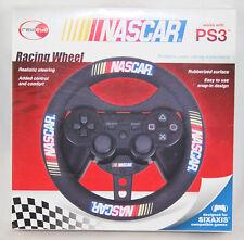 NASCAR PlayStation 3 PS3 Racing Wheel New In Box!