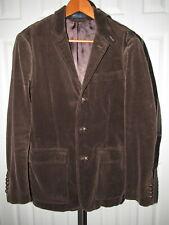 NEW Polo Ralph Lauren Brown Corduroy Shooting Sport Coat Blazer Jacket S NWOT