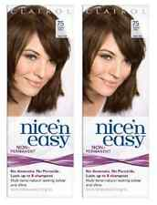 Clairol Nice N Easy Loving Care Hair Color, #75 Light Ash Brown (2 Pack)