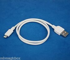 50cm QUICK Charger Fast Charging ONLY USB cable WHITE for iPhone 5s 5c 5