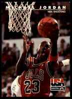 1992-93 Skybox USA Michael Jordan Bulls #44 10=Fs