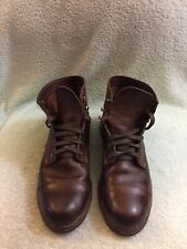 Wolverine 1000 Mile  'Adrian' Cap Toe Boot Brown Leather Men's Sz 10.5 D
