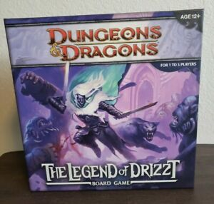 Dungeons & Dragons ~ The Legend of Drizzt Board Game New (Game Complete)