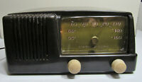 1950 General Electric Tube Radio Model 123 Works Excellent condition