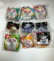 Winnie the Pooh McDonalds Happy Meal Toys - 1999-2001 Disney - Set Of 9