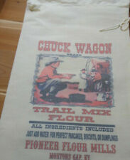 RL-29 CHUCK WAGON Flour Bag Sack Feed Seed  Novelty Collectible