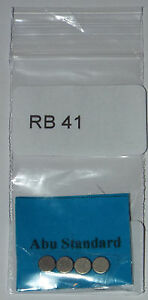 4 x Abu 6500 mag standard size brake magnet not normally sold separately (RB 41)