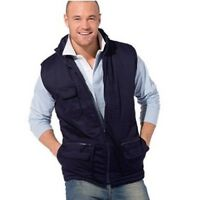 New Mens Jacket Gilet Multi-Pocket Bodywarmer Ladies Workwear Fishing Hunting