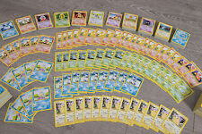 700 MINT Pokemon Base UK 1999-2000 Cards from Boosters 102 Set Original Rare