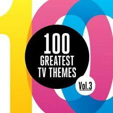 Various Artists - 100 Greatest TV Themes 3 (Original Soundtrack) [New CD]