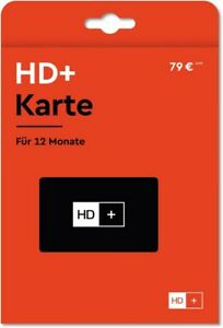 HD+ Karte (12 Monate) Originalverpackt vom Fachhändler 12 Monate TV-Vergnügen.