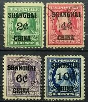 "US.(Shanghai)>1919>Used,perf.11>Overprinted ""SHANGHAI CHINA"" & ""Surcharged""."