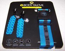 BODY GLOVE Luggage Strap and Zipper Pull Set  BLUE/BLACK~ NWT