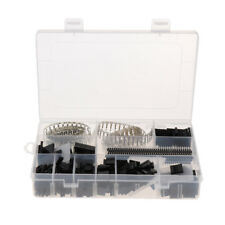 1450pc Male Female Wire Jumper Pin Header Connector Housing Kit w/Crimp Pins