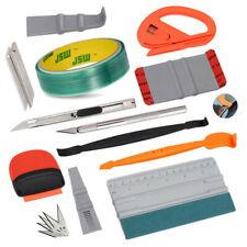 Auto FolierSet Wrapping Kohlefaser Rakel & 5M Spool Knifeless Tape 10 Klingen DE