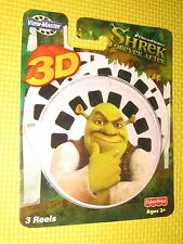 Shrek FISHER PRICE viewmaster reel T6010 Forever After VIEW MASTER 3D Pack NEW