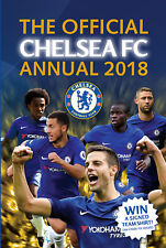 The Official Chelsea FC Annual 2018 by Grange Communications Ltd (Hardback, 2017)