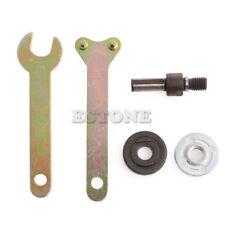 1 Set  M10/16mm Hole Drill Angle Grinder Mandrel Adapter Disc Holder Spanner Kit