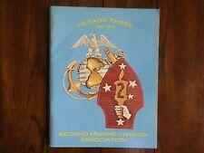 Second Marine Division Decade Three 1942-1972 Convention Program San Diego CA