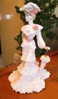 "COALPORT Figurine   "" Lady Alice ""   22cm or 8.75""  High    Excellent Condition"