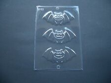3 ON 1 SCARY BAT CHOCOLATE MOULD/MOULDS/SPOOKY/CREEPY/KIDS/HALLOWEEN PARTY BAGS
