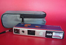 WORKING Minolta Pocket Pak 440E Camera 110 Film Camera with Carrying Case