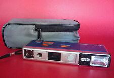 WORKING Minolta Pocket Pak 440E Camera 110 Film Camera with Carrying Case