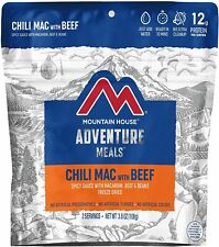 Mountain House Freeze Dried Food Chili Mac With Beef Case of 6