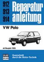 VW Polo ab Baujahr 1985 Reparaturbuch Reparaturanleitung Reparatur-Handbuch Buch