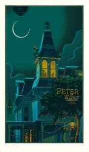Peter & Wendy by Laurent Durieux Signed Peter Pan Disney Home Decor