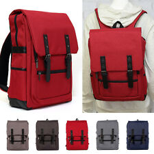 New Women Men Laptop Bag Fashion Canvas Travel Backpack School Bookbag Rucksack