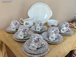 Vintage China Shabby Chic Tea Set Items Pink & Floral Mixture