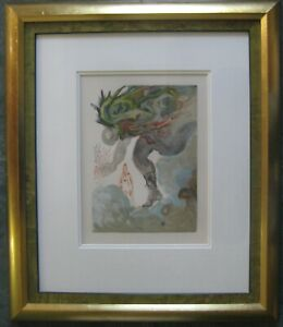 Salvador Dali - Enferno Chant 31 the Giants, unsigned litho