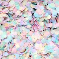 Pastel Rainbow Confetti Biodegradable Wedding Confetti Party Table Confetti Mix