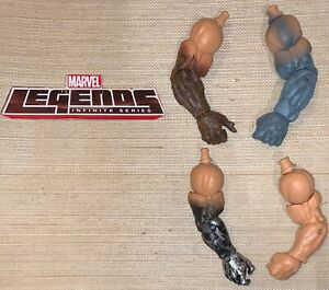 Marvel Legends Absorbing Man Build A Figure BAF ALL Left & Right Arms Lot