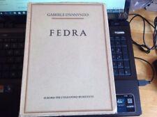 G.  D'ANNUNZIO - FEDRA - 1937