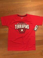 New NCAA MARYLAND TERRAPINS TERPS Boys LARGE 12/14 SHORT SLEEVE TEE T-SHIRT