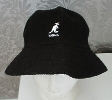 59b004ba06f BNWT UNISEX KANGOL MID BLACK BOUCLE SUN BUCKET HAT SMALL MEDIUM RRP £20