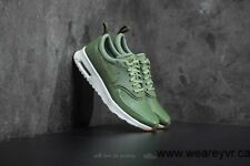 Nike Air Max Thea Premium WMNS Palm Green Olive Real Leather 36 37 38 39  616723 a54642fc6