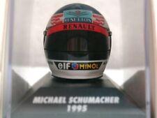 WOW EXTREMELY RARE Helmet M.Schumacher 1995 Benetton Nürburgring 1:8 Minichamps