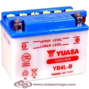 Bateria YUASA YB4L-B Original Yamaha ENVIO 24 HORAS