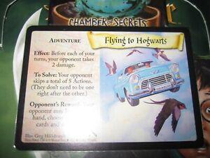 HARRY POTTER TCG CARD CHAMBER OF SECRETS FLYING TO HOGWARTS 24/140 RARE MINT
