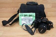 *Untested* Cannon EOS Rebel S 35-80mm Film Camera With Shoulder Strap & Case