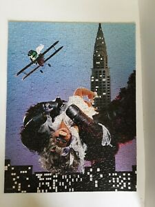 Springbok 1978 Jigsaw Puzzle Jim Henson's King Kong Goes Ape Over Miss Piggy