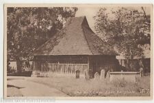 The Bell Cage East Bergholt 1956 Postcard, B438